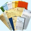 Thẻ giấy chấm công