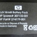 HP 3.6V Ni-MH Battery for Smart Array 641, 642, 6i