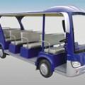 Xe điện chở khách  EZGO 14 chỗ ngồi