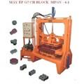 Máy ép gạch Bloch rung + thuỷ lực
