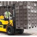 Xe nâng động cơ Diesel HYUNDAI 20DF-7 2.0 tấn