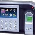 Máy chấm công vân tay và thẻ cảm ứng Ronald Jack T6C