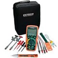 Bộ kít đồng hồ vạn năng, dây đo Extech EX520-S