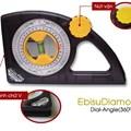 Thước thủy đo nghiêng Ebisu Diamond 25SPROM
