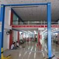 Cầu nâng ô tô 2 trụ giằng trên TC4000, 4 tấn