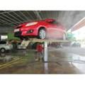Ben nâng rửa xe 1 trụ