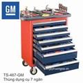 Thùng dụng cụ 7 ngăn, 110 chi tiết GM DEAWOO