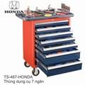 Thùng dụng cụ 7 ngăn, 120 chi tiết HONDA