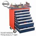 Thùng dụng cụ 7 ngăn, 110 chi tiết NISSAN
