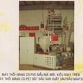 Máy thổi màng Co-PVC kiểu đầu xoay trên