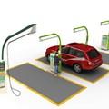 Máy rửa xe ô tô tự động 3In1