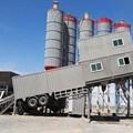 Trạm trộn bê tông loại di chuyển bảo vệ môi trường