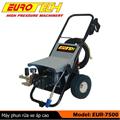 Máy rửa xe ô tô cao áp EUR 7500, Công suất 7,5 KW - 250Bar