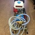Bộ rửa xe dây đai chạy xăng 5,5hp