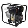 Máy bơm nước chạy dầu diesel 8.5KW/11.3HP Lutian 100KB-4