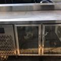 Tủ mát bàn inox 1.5m cửa kính Berjaya B2D/C5/6-S