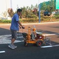 Máy phun sơn đường động cơ xăng