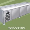 BÀN MÁT SALAD SANDWICH 3 CỬA 2M4 BERJAYA BS 3D/PSSCF8/Z