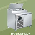 TỦ PIZZA COUNTER 1M2 BERJAYA  BS 1D/PCF4/Z