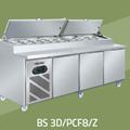 TỦ PIZZA COUNTER 2M4 BERJAYA BS 3D/PCF8/C