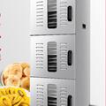 Máy sấy thực phẩm công suất lớn 30 tầng