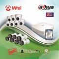 Trọn bộ Camera Dahua 7 mắt HD 1.0M DHI-XVR4108C