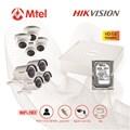 Trọn bộ Camera Hikvision 4 mắt HD 1.0M HIK-DS-7104HGHI-F1