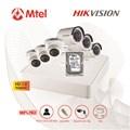Trọn bộ Camera Hikvision 3 mắt HD 1.0M HIK-DS-7104HGHI-F1