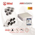Trọn bộ Camera Hikvision 5 mắt Full HD 2.0M HIK-DS-7108HQHI-F1/N