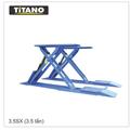 Cầu nâng ô tô kiểu xếp 3.5 tấn móng nổi 3.5SX