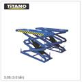 Cầu nâng ô tô kiểu xếp 3.0 tấn, bàn nâng nhỏ 3.0S