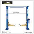 Cầu nâng ô tô 2 trụ giằng trên TC-4000SW, 4 tấn