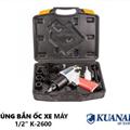 Bộ Súng Bắn Ốc Vặn Bu Lông Kuanai K-2600 1/2″ Inch Đài Loan