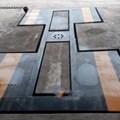 Cầu nâng 1 trụ rửa xe ô tô Ấn Độ lắp âm nền kiểu chữ I SH04-I