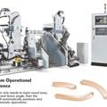 Máy làm mộng dương 2 đầu CNC Yowcherng CNC-D200B