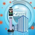 Máy đo nhiệt đô thân nhiệt nhận diện khuân mặt  Smart Pass