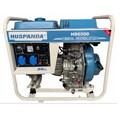 Máy phát điện chạy dầu không giảm âm HUSPANDA HD6500