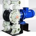 Bơm màng điện GODO DBY3-65 nhựa PP