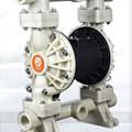 Bơm màng khí nén GODO QBY3-40 nhựa PP