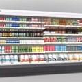 Tủ trưng bày và bảo quản rau củ quả Kolner KNMR-A