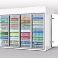 Kho đông mát siêu thị Kolner Walk in showcase cold room