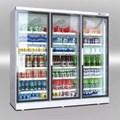 Tủ mát 3 cánh kính siêu thị Kolner KNRR-140/210/280/340-A