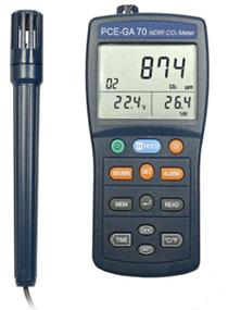 Máy đo khí CO2, nhiệt độ, độ ẩm PCE-GA 70
