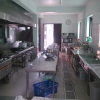 Bếp inox nhà hàng, khách sạn, căng tin, trường học