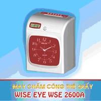 Máy chấm công thẻ giấy Wise Eye WSE-2600A