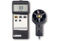 Máy đo tốc độ gió/nhiệt độ điện tử AM-4203