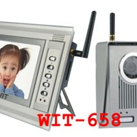 Bộ chuông cửa màn hình VDP Wireless WIT-658