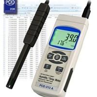 Máy đo nhiệt độ, độ ẩm PCE-313A (có thẻ nhớ)