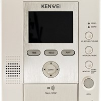 Màn hình màu chuông cửa KENWEI KW-125C-W64