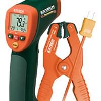 Thiết bị đo nhiệt độ hồng ngoại kết hợp đo kiểu K Extech 42515-T